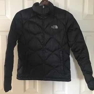 North Face Goose Down Black Jacket, size M